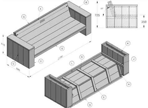 doe het zelf meubels steigerhout tuinmeubelen zelf maken gratis bouwtekeningen