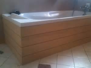 cr 233 ation d un habillage baignoire en bois dans les monts d or