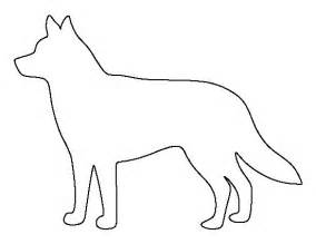 husky template husky pattern use the printable outline for crafts