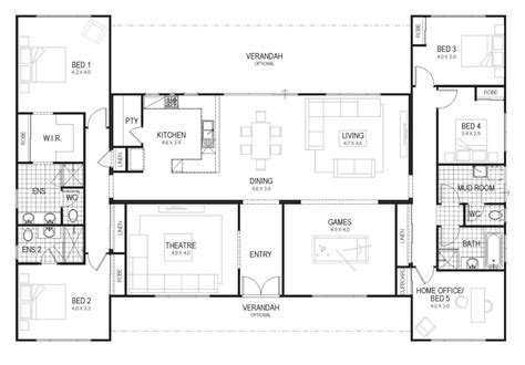 28 h shaped house floor plans h shaped house plans floor plan friday country home for all the family