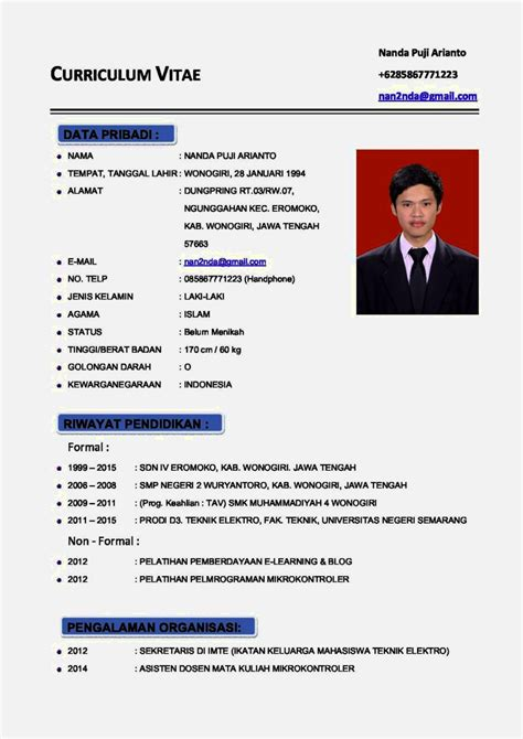 contoh application letter terbaru contoh cv terbaru 2017 resume template cover letter