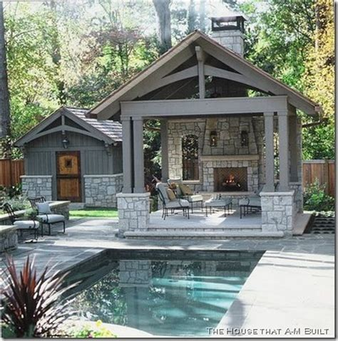 small pool houses carriage house plans pool houses