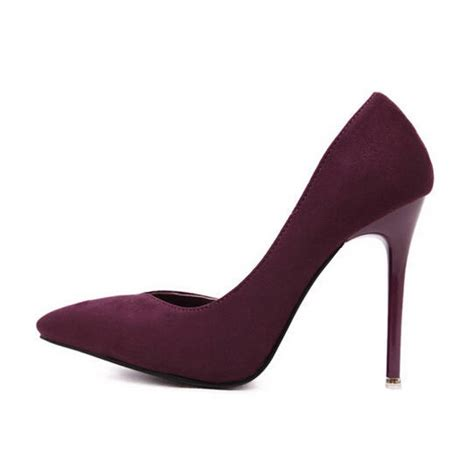 wine high heels wine high heel d orsay pointed toe court shoes