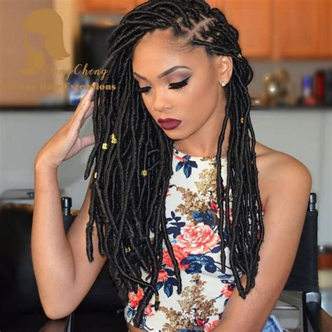 artificial dreadlock hairstyles 18 beautiful faux locs braid hair faux locs twist braid