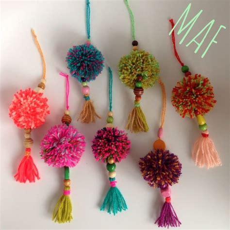 perlas de estambre manualidades pinterest las 25 mejores ideas sobre pompones de lana en pinterest y