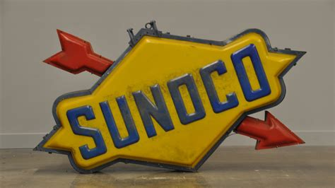 Sunoco Lighted Sign 84x48x14 M175 Kissimmee 2015