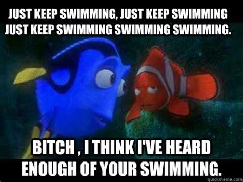 Just Keep Swimming Meme - 20 just keep swimming memes to motivate you sayingimages com