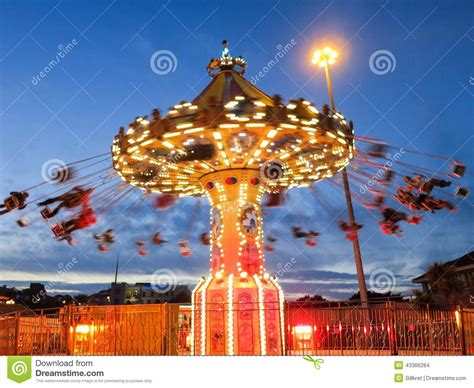 swing nights swing ride by stock photo image 43366284