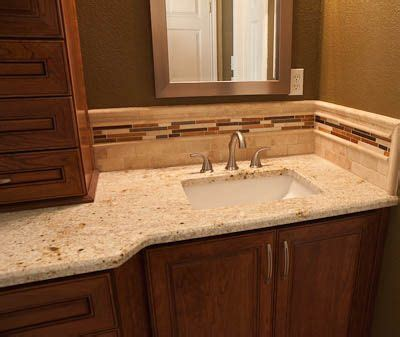 bathroom vanity countertop ideas granite countertops simple color scheme not busy tile backsplash house updates