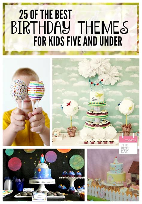 good party themes 25 of the best birthday party themes for kids 5 and