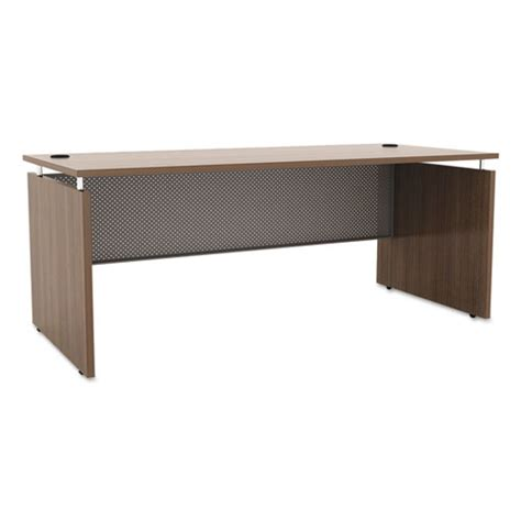 alera sedinaag series straight front desk shell alera sedina series straight front desk shell 66w x 30d x
