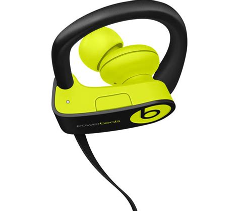 Bluetooth Headphone Beats By Drdre buy beats by dr dre powerbeats3 wireless bluetooth headphones shock yellow free delivery