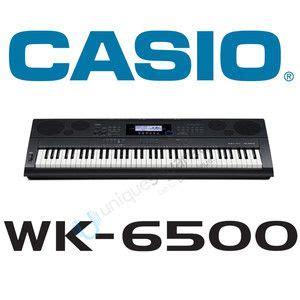 Keyboard Casio Wk 6500 casio wk6500 76 key portable keyboard black wk 6500 sequencer new in