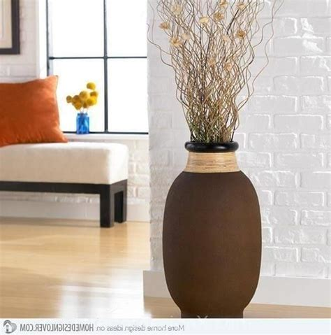 Decorative Floor Vases Ideas by Best 25 Floor Vases Ideas On Floor Vase Decor