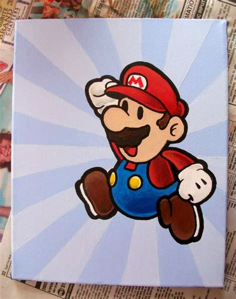 mario painting paper mario painting by kaylamckay on deviantart