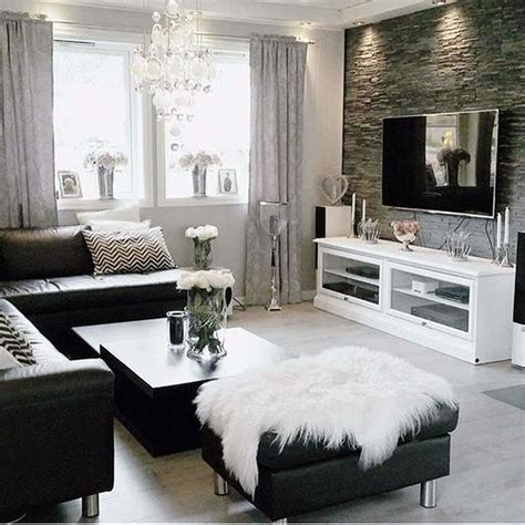black white home decor 40 grey living room ideas to adapt in 2016 bored