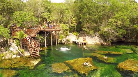 jardin del eden jardin del eden cenote garden of eden youtube
