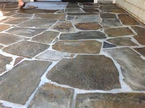 Slate Patio Slate Tile Driving You California Tile Restoration