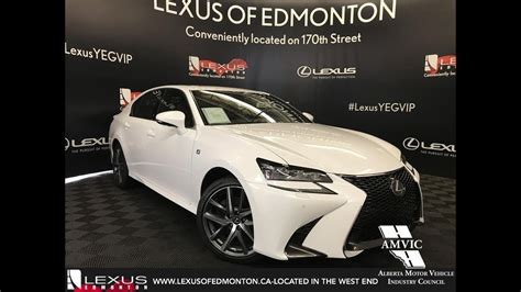 2018 lexus gs350 f sport white 2018 lexus gs 350 f sport series 2 review