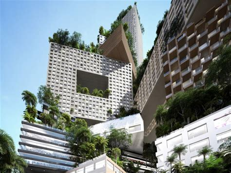 New One Story House Plans Mvrdv Present 400 Meter Tall Tower In Jakarta