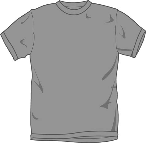 grey t shirt clipart best