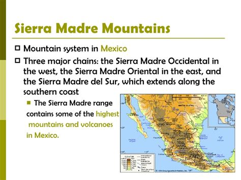 best photos of physical features of mexico sierra madre physical features of latin america 2