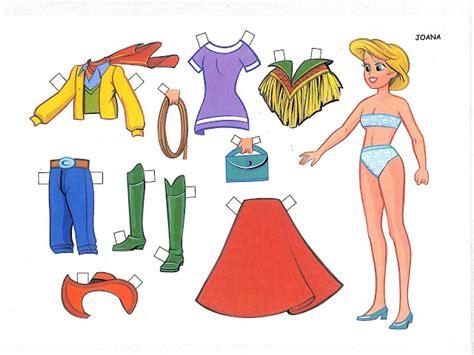 Miss Missy Paper Dolls Spanish Paper Doll Set