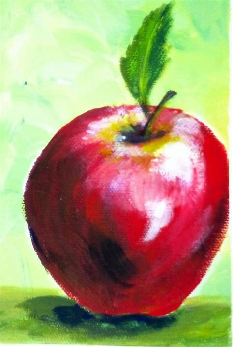 acrylic painting apple 10 best ideas about apple painting on apple