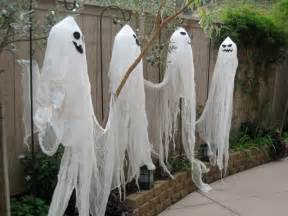 Homemade Halloween Yard Decorations Ideas Gallery For Gt Diy Halloween Decorations Ghosts