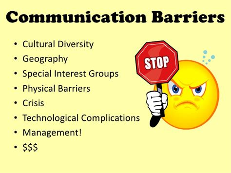 relations communication challenges