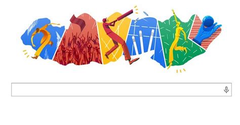 doodle cricket cricket t20 doodle created to 2014 world cup