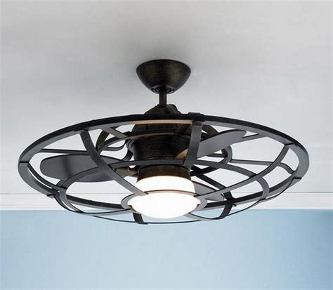 cage enclosed ceiling fans caged ceiling fan with light ellington fans lar54 lark