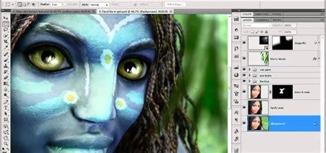 tutorial photoshop cs5 avatar how to create avatar style navi i irises in adobe