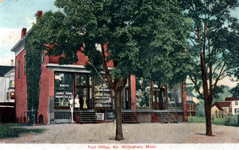 Wilbraham Post Office by Joe S Wilbraham Photo History Page