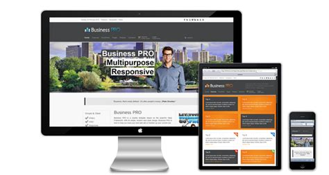 business pro responsive joomla template free
