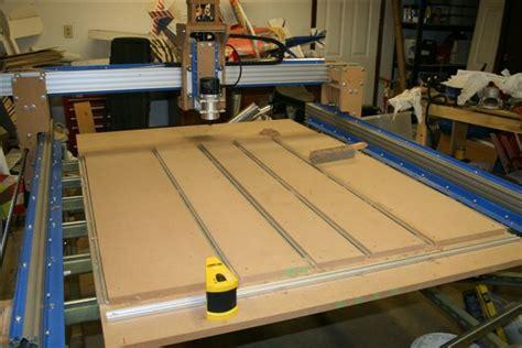 Diy Cnc Router Table Pdf Plans Building Indoor Bench Freepdfplans Pdfwoodplans Aluminum Cnc Router Build