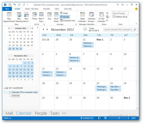 2 Calendars In Outlook 2010 How To Add National Holidays To The Outlook Calendar