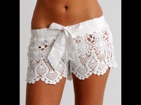 short crochet patrones crochet shorts tutorial youtube