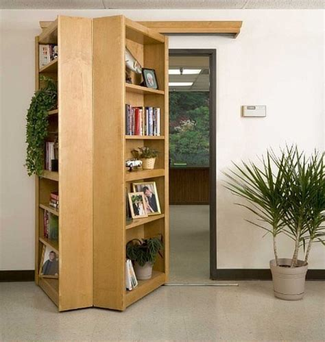 secret bookshelf passageway take my paycheck shut up