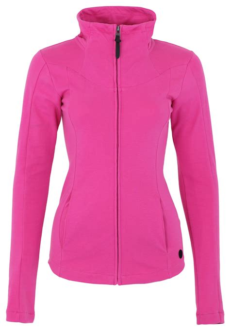 bench zip up bench inegale zip up sweat jacket in pink lyst