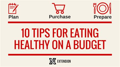 10 Words To Remember For A Healthy by 10 Tips For Healthy On A Budget