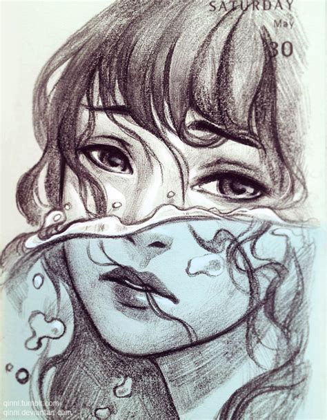 qinni sketchbook drowning by qinni on deviantart