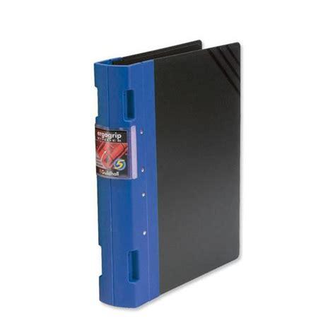 Binder Gl Kemasan 1 2 Kg Guildhall Gl Ergogrip 2 Ring A4 Binder Blue 2 Pack 4509