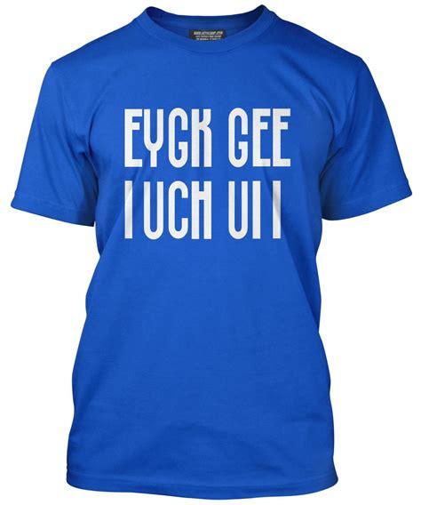 9 Ace Slogan Shirts by Eygk Gee F K Slogan Folded Cool