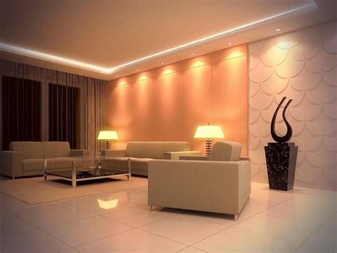 Led Eclairage Plafond by 201 Clairage Led Et Types De Luminaires Dans Le Salon Parfait