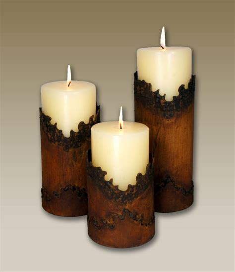 Candle Holders Set Of 3 by Jagged Edge Southwestern Metal Candle Holders Set Of 3