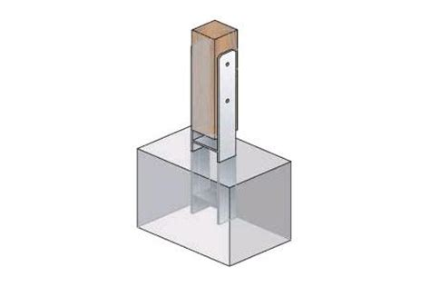 carport h anker einbetonieren 71 mm h anker pfostentr 228 ger 71x600 carport 4 st ebay