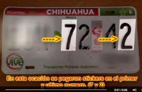 formato para pago de placas chihuahua pago de tenencia refrendo y placas de san luis potosi
