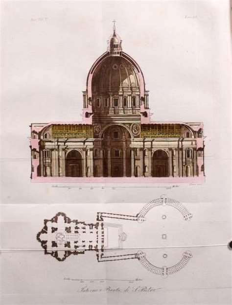saint peter basilica architectural floor plan vatican city 1933 renaissance architecture 221 best images about history of architecture on pinterest