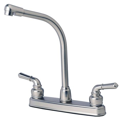 high rise kitchen faucet rv mobile home classic high rise swivel kitchen faucet